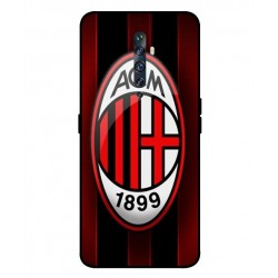 Durable AC Milan Cover For Oppo Reno 2F