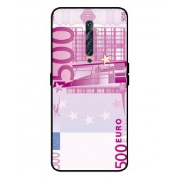 Durable 500 Euro Note Cover For Oppo Reno 2F