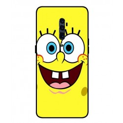 Durable SpongeBob Cover For Oppo Reno 5G