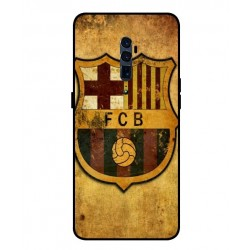 Durable FC Barcelona Cover For Oppo Reno 10x Zoom