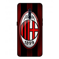 Durable AC Milan Cover For Oppo Reno 10x Zoom
