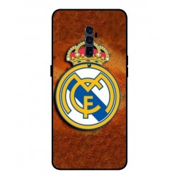 Durable Real Madrid Cover For Oppo Reno 10x Zoom