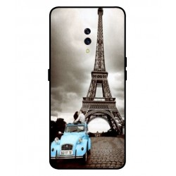 Durable Paris Eiffel Tower Cover For Oppo K3