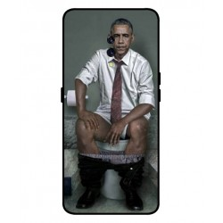Durable Obama On The Toilet Cover For Oppo K3