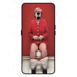Durable Angela Merkel On The Toilet Cover For Oppo K3