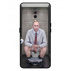 Durable Vladimir Putin On The Toilet Cover For Oppo K3