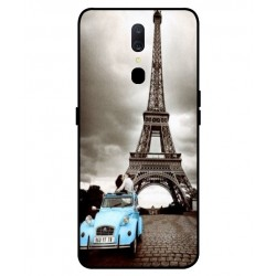 Durable Paris Eiffel Tower Cover For Oppo A9
