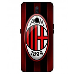 Durable AC Milan Cover For Oppo A9