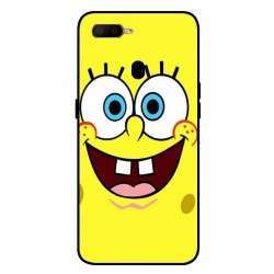 Durable SpongeBob Cover For Oppo A5s