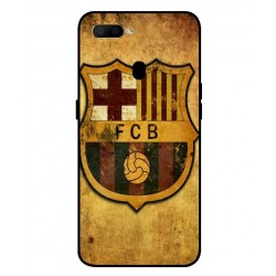 Durable FC Barcelona Cover For Oppo A5s