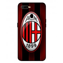 Durable AC Milan Cover For Oppo A5s