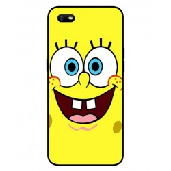 Durable SpongeBob Cover For Oppo A1k