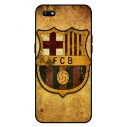 Durable FC Barcelona Cover For Oppo A1k