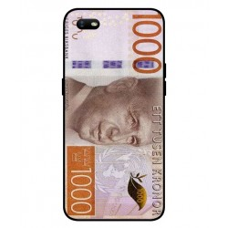 Durable 1000Kr Sweden Note Cover For Oppo A1k