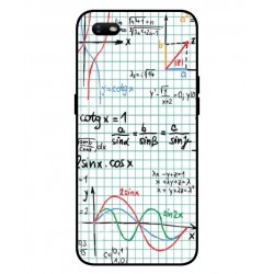 Durable Mathematics Cover For Oppo A1k