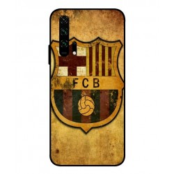 Durable FC Barcelona Cover For Huawei Honor 20 Pro
