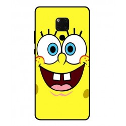 Durable SpongeBob Cover For Huawei Mate 20 X 5G