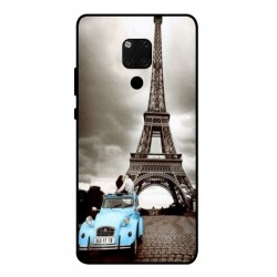 Durable Paris Eiffel Tower Cover For Huawei Mate 20 X 5G