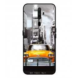 Durable New York Cover For Oppo A9 2020