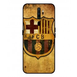 Durable FC Barcelona Cover For Oppo A9 2020