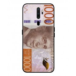 Durable 1000Kr Sweden Note Cover For Oppo A9 2020