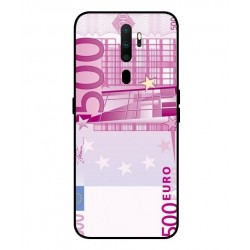 Durable 500 Euro Note Cover For Oppo A9 2020