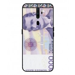 1000 Norwegian Kroner Note Cover For Oppo A9 2020