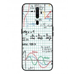 Durable Mathematics Cover For Oppo A9 2020