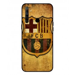 Durable FC Barcelona Cover For Oppo Realme 5i