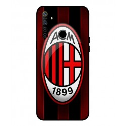 Durable AC Milan Cover For Oppo Realme 5i