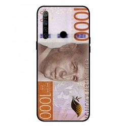 Durable 1000Kr Sweden Note Cover For Oppo Realme 5i