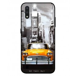 Durable New York Cover For Samsung Galaxy A01