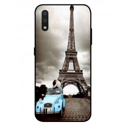 Durable Paris Eiffel Tower Cover For Samsung Galaxy A01