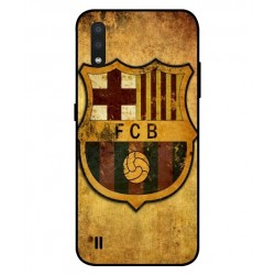Durable FC Barcelona Cover For Samsung Galaxy A01