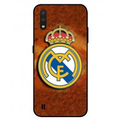Durable Real Madrid Cover For Samsung Galaxy A01