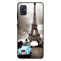 Durable Paris Eiffel Tower Cover For Samsung Galaxy A51