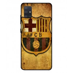 Durable FC Barcelona Cover For Samsung Galaxy A51