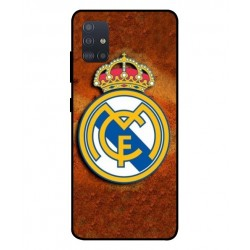 Durable Real Madrid Cover For Samsung Galaxy A51