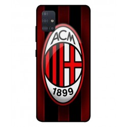 Durable AC Milan Cover For Samsung Galaxy A51