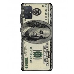 Durable 100 Dollar Note Cover For Samsung Galaxy A71