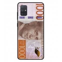 Durable 1000Kr Sweden Note Cover For Samsung Galaxy A71