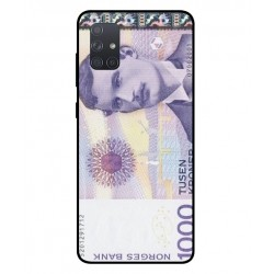 1000 Norwegian Kroner Note Cover For Samsung Galaxy A71
