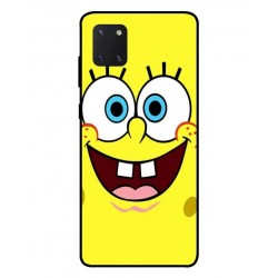 Durable SpongeBob Cover For Samsung Galaxy Note 10 Lite
