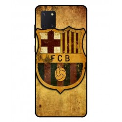 Durable FC Barcelona Cover For Samsung Galaxy Note 10 Lite