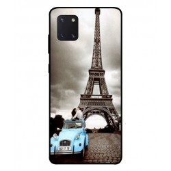 Durable Paris Eiffel Tower Cover For Samsung Galaxy Note 10 Lite