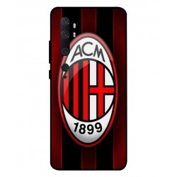 Durable AC Milan Cover For Xiaomi Mi Note 10
