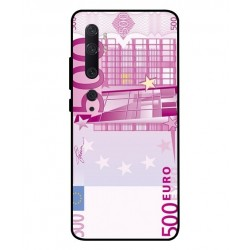 Durable 500 Euro Note Cover For Xiaomi Mi Note 10