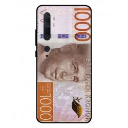 Durable 1000Kr Sweden Note Cover For Xiaomi Mi Note 10