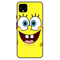 Durable SpongeBob Cover For Google Pixel 4