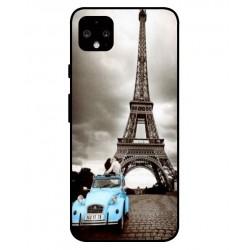 Durable Paris Eiffel Tower Cover For Google Pixel 4